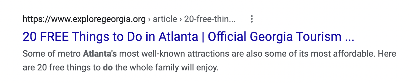 example of a good headline