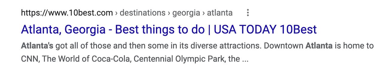 example of a bad headline